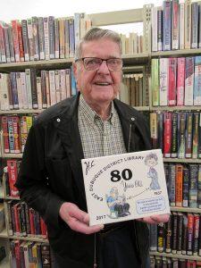 Lib Harold patron for 80 years